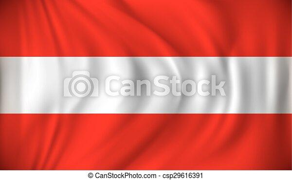 Flag of Austria - csp29616391