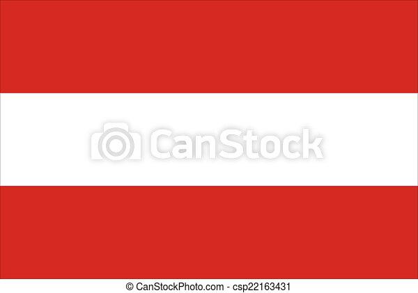 flag of austria - csp22163431