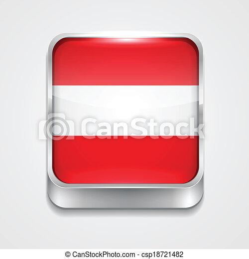 flag of austria - csp18721482