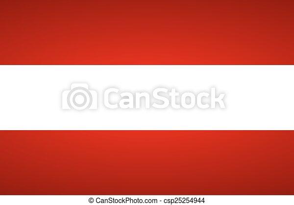 Flag of Austria. - csp25254944