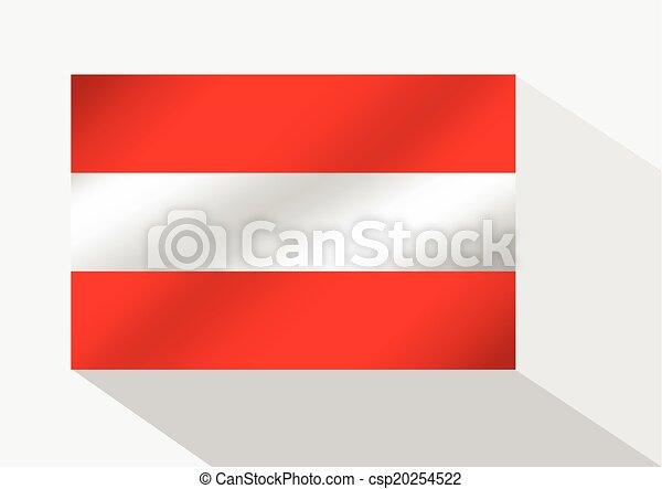 flag of austria - csp20254522