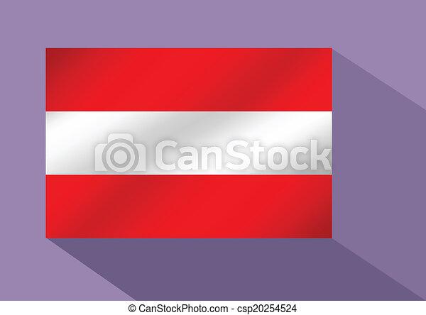flag of austria - csp20254524