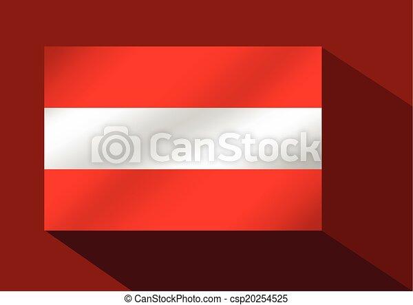 flag of austria - csp20254525