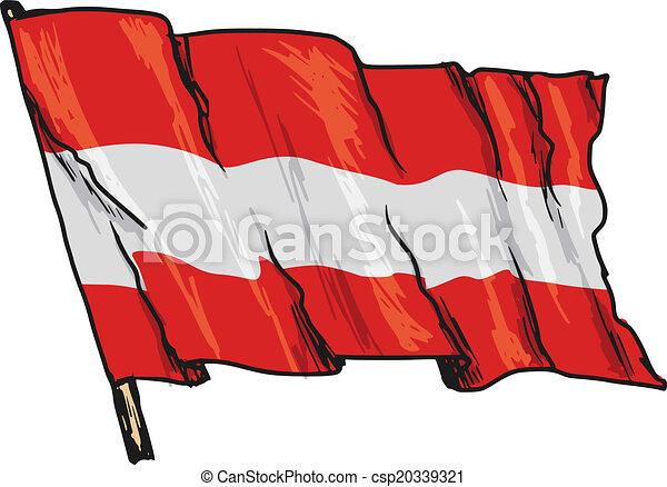 flag of Austria - csp20339321
