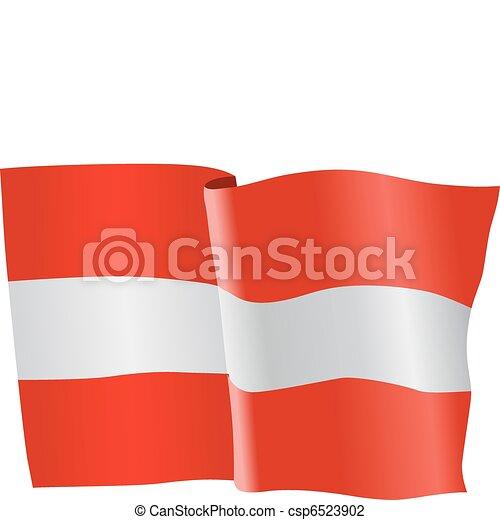 flag of Austria - csp6523902
