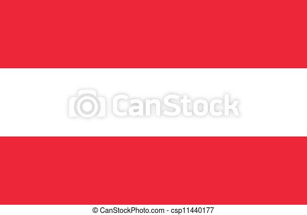 Flag of Austria - csp11440177