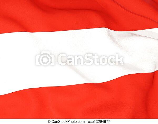 Flag of austria - csp13294677