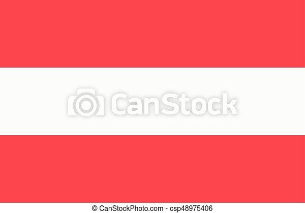 Flag of Austria - csp48975406