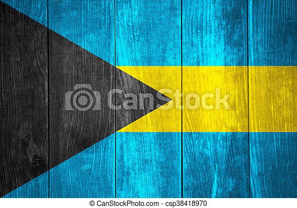 flag of Bahamas - csp38418970