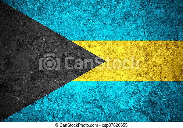 flag of Bahamas - csp37820655