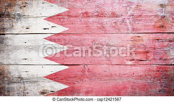 Flag of Bahrain - csp12421567