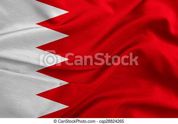 Flag of Bahrain - csp28824265