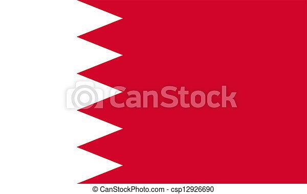 Flag of Bahrain. - csp12926690