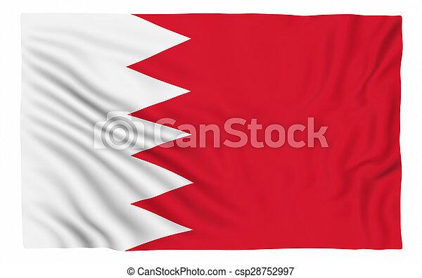 Flag of Bahrain - csp28752997