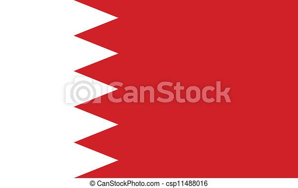 Flag of Bahrain - csp11488016