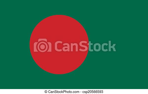 Flag of Bangladesh - csp20566593