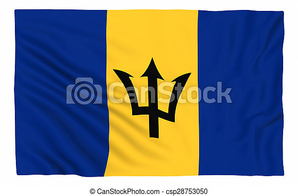 Flag of Barbados - csp28753050