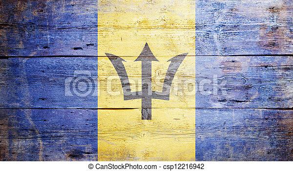 Flag of Barbados - csp12216942
