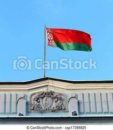 flag of Belarus - csp17388825