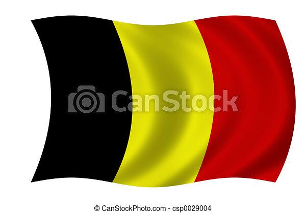 flag of Belgium - csp0029004