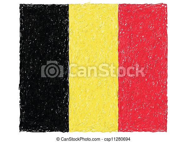 flag of belgium - csp11280694