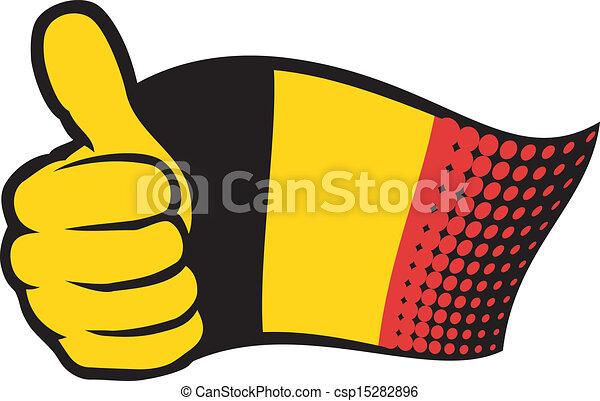 Flag of Belgium - csp15282896