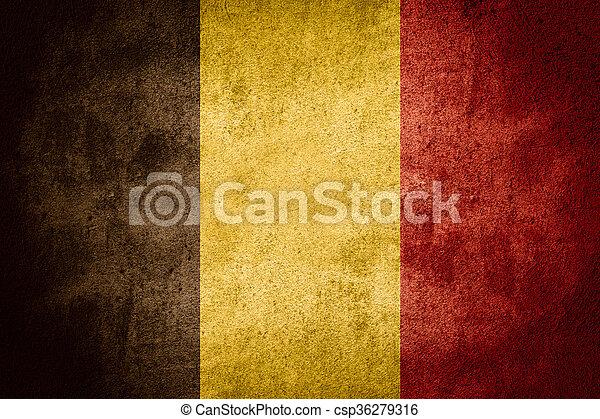 flag of Belgium - csp36279316