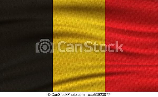 Flag of Belgium. - csp53923077