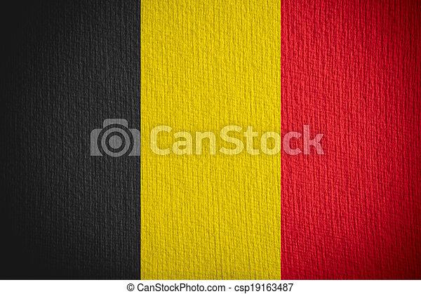 flag of Belgium - csp19163487
