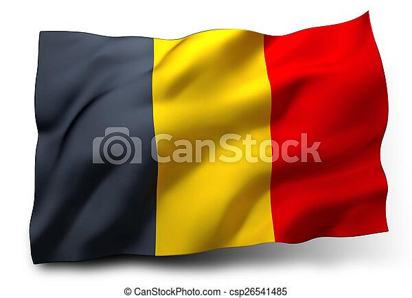 flag of Belgium - csp26541485