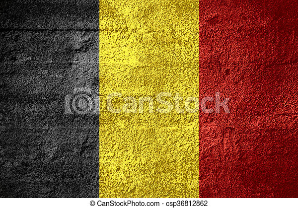 flag of Belgium - csp36812862