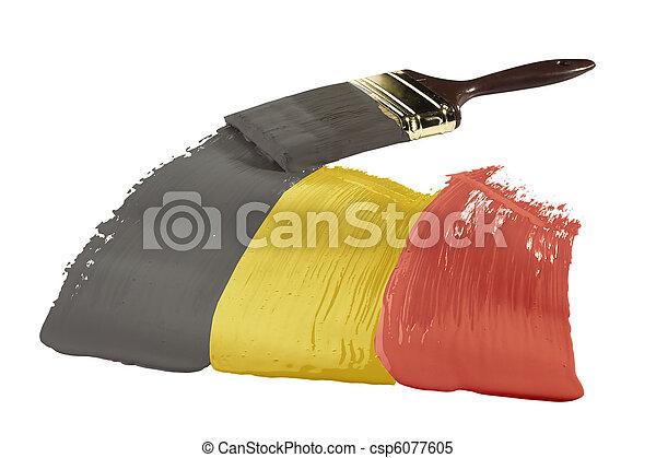 Flag of Belgium - csp6077605