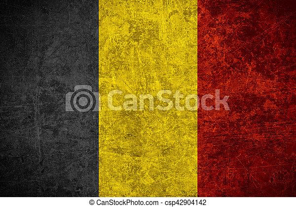 flag of Belgium - csp42904142