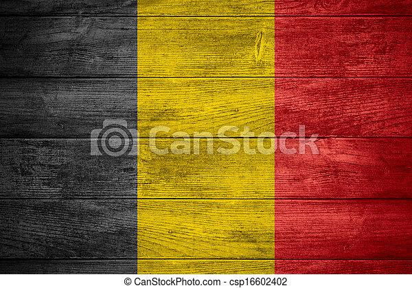 flag of Belgium - csp16602402