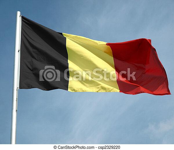 Flag of Belgium - csp2329220