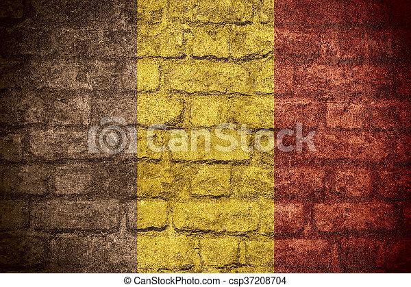 flag of Belgium - csp37208704