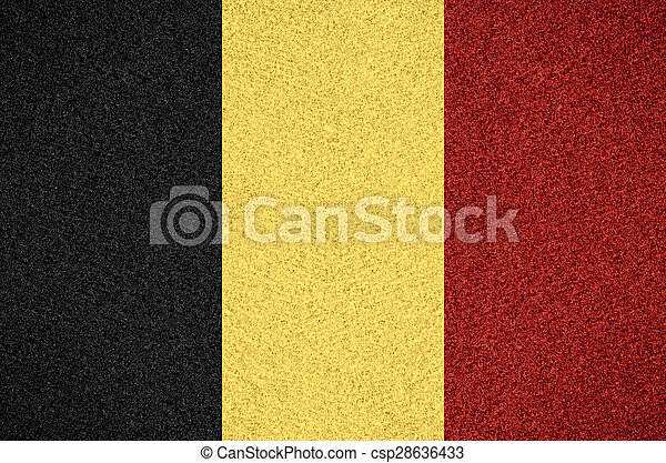 flag of Belgium - csp28636433