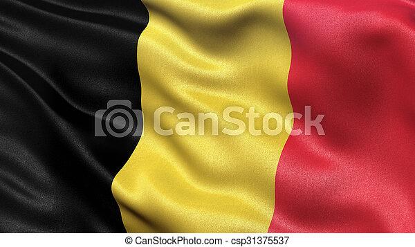 Flag of Belgium - csp31375537