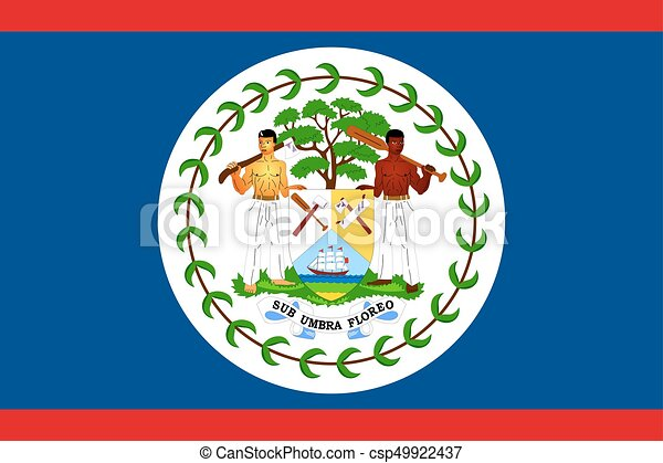 Flag of Belize - csp49922437
