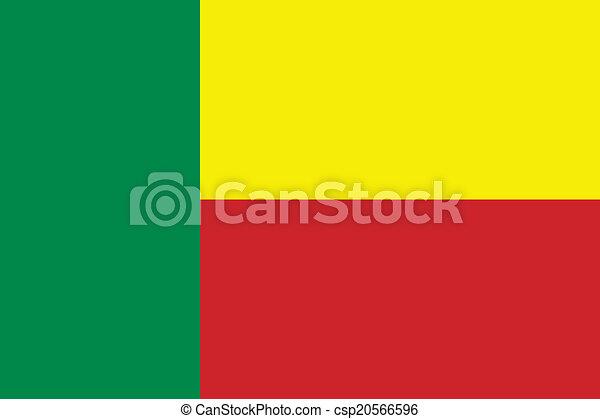 Flag of Benin - csp20566596