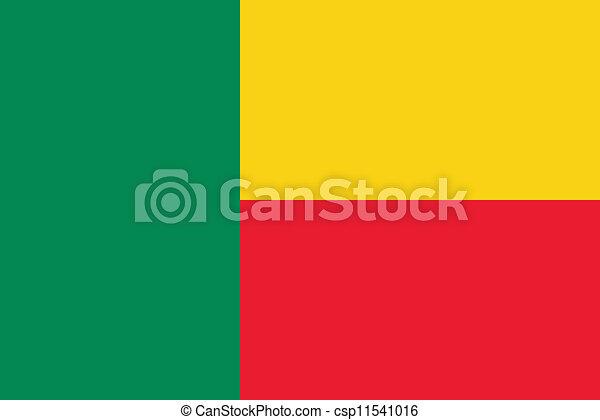 Flag of Benin - csp11541016