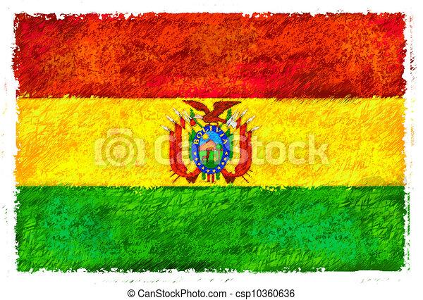 Flag of Bolivia - csp10360636