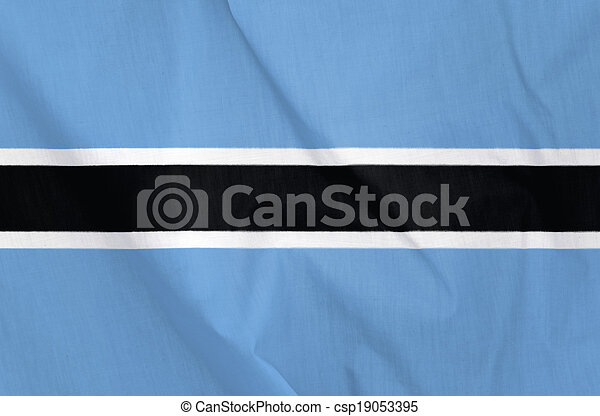 Flag of Botswana - csp19053395