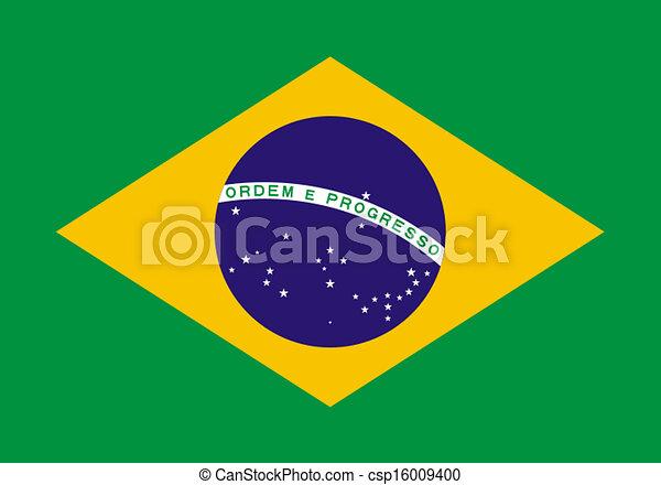 flag of Brazil - csp16009400