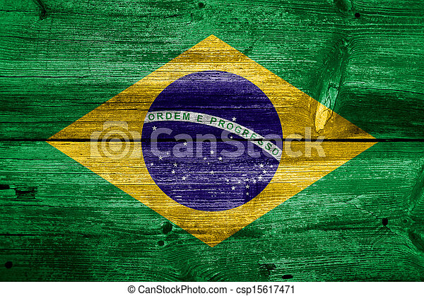 Flag of Brazil - csp15617471