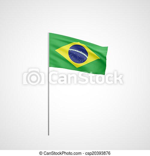 Flag of Brazil - csp20393876