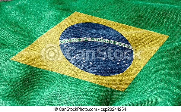 Flag of Brazil - csp20244254