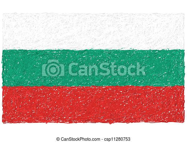 flag of bulgaria - csp11280753