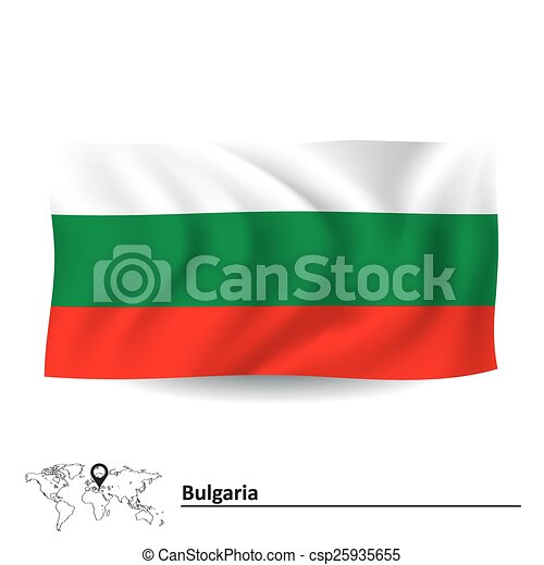 Flag of Bulgaria - csp25935655