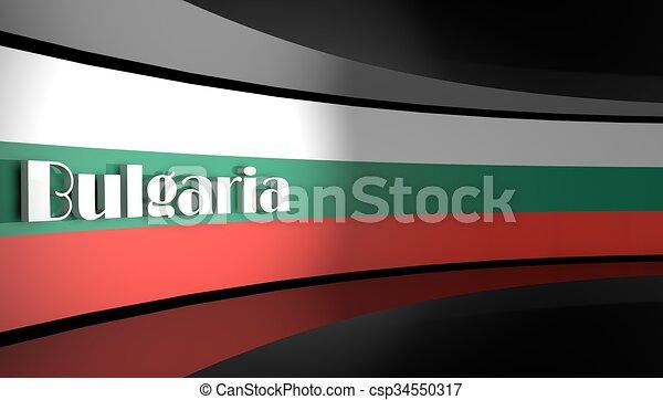 Flag of Bulgaria - csp34550317
